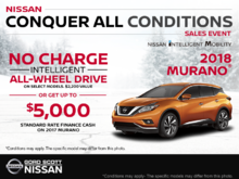 Get the 2018 Murano Today