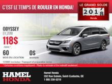 Louez une Honda Odyssey 2018