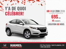 Procurez-vous la Honda HR-V 2018!
