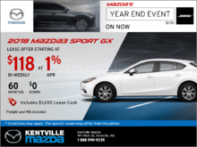 2018 Mazda3 Sport GX -- Drive it Home Today!