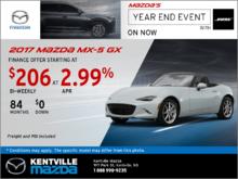 Get the 2017 Mazda MX-5 GX Now!