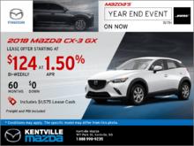 2018 Mazda CX-3 GX -- Drive it Home Today!