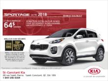 Le Kia Sportage 2018