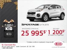 Le Kia Sportage 2019