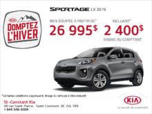 La Kia Sportage 2019