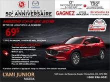 Promotion(id=41931, promotionDepartment=com.sm360.website.clientapi.dto.promotion.PromotionDepartment@e1781, imgUrlFr=null, imgUrlEn=null, imgUrl=/generator/lami-junior-mazda/201808/2018-08-procurez-vous-la-mazda-cx-5-2018-7823e6ec.png, imgUrl2Fr=null, imgUrl2En=null, imgUrl2=, descFr=null, descEn=null, desc=<p>Louez la <strong>Mazda CX-5 GX 2018</strong> à partir de <strong>69$ par semaine</strong> pour 60 mois avec un acompte de 2 295$.<br /> Pour 10$ par semaine de plus, obtenez la <strong>traction intégrale i-ACTIV, la transmission automatique et le moteur 2,5 L</strong>.<br /> Certaines conditions s'appliquent. Cette offre est valide jusqu'au <strong>31 août 2018.</strong><br /> Planifiez votre essai routier dès aujourd'hui!</p> , titleFr=null, titleEn=null, title=Procurez-vous la Mazda CX-5 2018!, url1Fr=null, url1En=null, url1=/fr/formulaire/neuf/demande-d-essai-routier/3?picture=2018%2fmazda%2fcx-5%2fgx%2fsuv%2fmain%2f2018_mazda_cx5_GX_Main.png&trimId=8829&carId=2806&desired_model=CX-5&desired_make=Mazda&desired=catalog&desired_year=2018&desired_trim=GX, url2Fr=null, url2En=null, url2=/fr/formulaire/neuf/demande-de-prix/1?picture=2018%2fmazda%2fcx-5%2fgx%2fsuv%2fmain%2f2018_mazda_cx5_GX_Main.png&trimId=8829&carId=2806&desired_model=CX-5&desired_make=Mazda&desired=catalog&desired_year=2018&desired_trim=GX, url1TitleFr=null, url1TitleEn=null, url1Title=Faites un essai routier, url2TitleFr=null, url2TitleEn=null, url2Title=Demande de prix, startDate=Tue Jul 31 20:00:00 EDT 2018, endDate=Thu Aug 30 20:00:00 EDT 2018, active=false, archived=false, availableFr=false, availableEn=false, promotionZoneOnly=true, fallback=false, shareable=false, automatic=false, priority=5, makeId=6, modelId=null, year=null, trimId=null, lastModifiedDate=Fri Aug 03 05:37:32 EDT 2018, creationDate=null, promotionZoneIds=null, websiteIds=null, organizationUnitIds=null, youtubeIds={}, youtubeId=, smallPrints={}, smallPrint=null, paymentInfo=null, seoSlugUrlEn=null, seoSlugUrlFr=null, seo