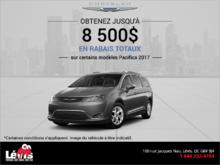 La vente mensuelle de Chrysler