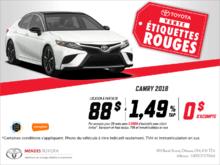La Toyota Camry 2018