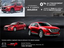 L'événement de fin d'année de Mazda!