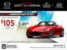 Get the 2017 Mazda MX-5!