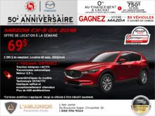 Promotion(id=41925, promotionDepartment=com.sm360.website.clientapi.dto.promotion.PromotionDepartment@e1781, imgUrlFr=null, imgUrlEn=null, imgUrl=/generator/portail-lami-junior-20/201808/2018-08-procurez-vous-la-mazda-cx-5-2018-a8751f76.png, imgUrl2Fr=null, imgUrl2En=null, imgUrl2=, descFr=null, descEn=null, desc=<p>Louez la <strong>Mazda CX-5 GX 2018</strong> à partir de <strong>69$ par semaine</strong> pour 60 mois avec un acompte de 2 295$.<br /> Pour 10$ par semaine de plus, obtenez la <strong>traction intégrale i-ACTIV, la transmission automatique et le moteur 2,5 L</strong>.<br /> Certaines conditions s'appliquent. Cette offre est valide jusqu'au <strong>31 août 2018.</strong><br /> Planifiez votre essai routier dès aujourd'hui!</p> , titleFr=null, titleEn=null, title=Procurez-vous la Mazda CX-5 2018!, url1Fr=null, url1En=null, url1=/fr/formulaire/demande-d'essai-routier/3?desired_make=mazda&desired_model=cx-5&desired_year=2018&desired_trim=GX&desired=catalog&carId=2806&trimId=8829&carId=2806&desired=catalog, url2Fr=null, url2En=null, url2=/fr/formulaire/demande-de-prix-neuf/1?desired_make=mazda&desired_model=cx-5&desired_year=2018&desired_trim=GX&desired=catalog&carId=2806&trimId=8829&carId=2806&desired=catalog, url1TitleFr=null, url1TitleEn=null, url1Title=Faites un essai routier, url2TitleFr=null, url2TitleEn=null, url2Title=Demande de prix, startDate=Tue Jul 31 20:00:00 EDT 2018, endDate=Thu Aug 30 20:00:00 EDT 2018, active=false, archived=false, availableFr=false, availableEn=false, promotionZoneOnly=true, fallback=false, shareable=false, automatic=false, priority=5, makeId=6, modelId=null, year=null, trimId=null, lastModifiedDate=Fri Aug 03 05:35:02 EDT 2018, creationDate=null, promotionZoneIds=null, websiteIds=null, organizationUnitIds=null, youtubeIds={}, youtubeId=, smallPrints={}, smallPrint=null, paymentInfo=null, seoSlugUrlEn=null, seoSlugUrlFr=null, seoSlugUrl=procurez-vous-la-mazda-cx-5-2018, imgUrl3Fr=null, imgUrl3En=null, imgUrl3=null)