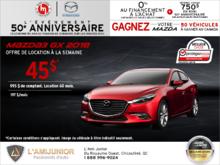 Promotion(id=43228, promotionDepartment=com.sm360.website.clientapi.dto.promotion.PromotionDepartment@e1781, imgUrlFr=null, imgUrlEn=null, imgUrl=/generator/portail-lami-junior-20/201808/2018-08-procurez-vous-la-mazda3-2018-00502727.png, imgUrl2Fr=null, imgUrl2En=null, imgUrl2=, descFr=null, descEn=null, desc=<p>Louez la <strong>Mazda3 GX 2018</strong> à partir de <strong>45$ par semaine</strong> pour 60 mois avec 995$ de comptant.<br /> Certaines conditions s'appliquent. Cette offre est valide jusqu'au <strong>31 août 2018.</strong><br /> Faites vite et planifiez votre essai routier dès aujourd'hui!</p> , titleFr=null, titleEn=null, title=Procurez-vous la Mazda3 2018!, url1Fr=null, url1En=null, url1=/fr/formulaire/neuf/demande-d-essai-routier/3?desired_make=mazda&desired_model=3&desired_year=2018&desired_trim=GX&desired=catalog&carId=2493&trimId=7597&carId=2493&desired=catalog, url2Fr=null, url2En=null, url2=/fr/formulaire/neuf/demande-de-prix/1?desired_make=mazda&desired_model=3&desired_year=2018&desired_trim=GX&desired=catalog&carId=2493&trimId=7597&carId=2493&desired=catalog, url1TitleFr=null, url1TitleEn=null, url1Title=Demande d'essai routier, url2TitleFr=null, url2TitleEn=null, url2Title=Demande de prix, startDate=Tue Jul 31 20:00:00 EDT 2018, endDate=Thu Aug 30 20:00:00 EDT 2018, active=false, archived=false, availableFr=false, availableEn=false, promotionZoneOnly=true, fallback=false, shareable=false, automatic=false, priority=5, makeId=6, modelId=null, year=null, trimId=null, lastModifiedDate=Fri Aug 03 05:35:05 EDT 2018, creationDate=null, promotionZoneIds=null, websiteIds=null, organizationUnitIds=null, youtubeIds={}, youtubeId=, smallPrints={}, smallPrint=null, paymentInfo=null, seoSlugUrlEn=null, seoSlugUrlFr=null, seoSlugUrl=procurez-vous-la-mazda3-2018, imgUrl3Fr=null, imgUrl3En=null, imgUrl3=null)