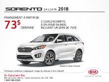 Achetez la Kia Sorento 2018