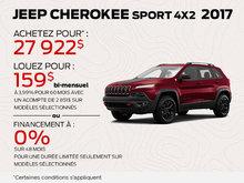 Cherokee Sport 4x2 2017