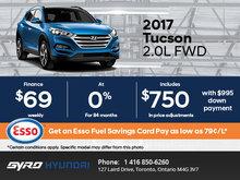 Save Big on the 2017 Hyundai Tucson in Toronto