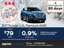 Save Big on the 2017 Hyundai Tucson!