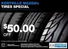 Kentville Mazda's Tire Special