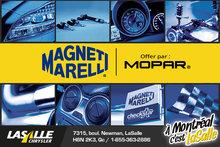 Commandez vos pièces Magneti Marelli et Mopar