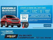 LOUEZ LE EDGE SEL 2017 AWD
