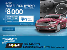 2018 Fusion Hybrid Rechargeable