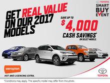 Toyota's Smart Buy Event!