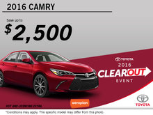 Get the All-New 2016 Toyota Camry!