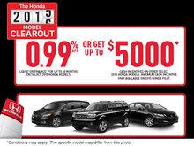 Honda 2015-2016 Honda Model Clearout!