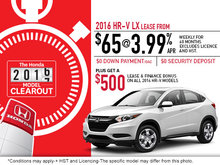 Save on the 2016 Honda HR-V Today!