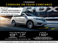 Acura RDX 2018 à Camco Acura!