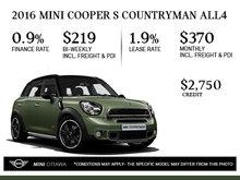2016 MINI Cooper Countryman ALL4