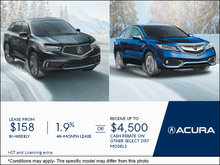 Acura's Monthly Sales