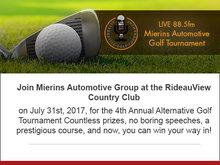 4th Annual Alternative Golf Tournament