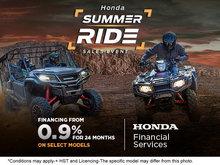 Honda Summer Ride Sales Event
