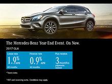 Lease the 2017 Mercedes-Benz GLA