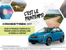 Louez le Subaru Crosstrek 2017