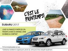 L'événement mensuel chez Ogilvie Subaru!