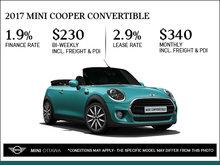 2017 MINI Cooper Convertible