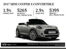 2017 MINI Cooper S Convertible