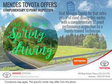 Peace of Mind for Spring Driving