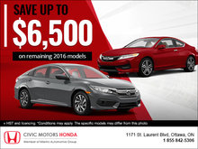 Save Up to $6,500!