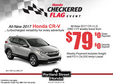 Lease the All-New 2017 Honda CR-V Today!