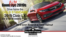 2019 Honda Civic LX only $115 bi-weekly with $0 Down!