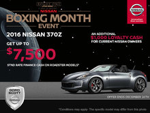Get the 2016 Nissan 370Z Today!