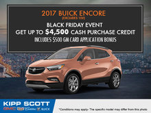 Get the 2017 Buick Encore Today!