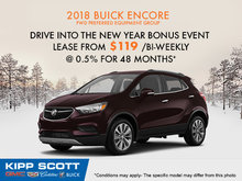 Get the 2018 Buick Encore Today!