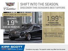 Save Big on the 2018 Cadillac CTS Sedan!
