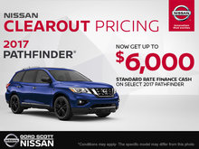 Get the 2017 Nissan Pathfinder Today