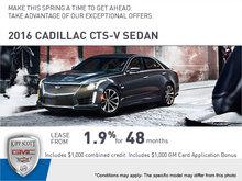 Save Big on the 2016 CTS-V Sedan!