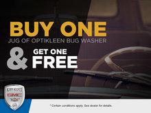 Optikleen Bug Wash -- Buy One Get One Free!