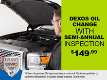 Semi-Annual Inspection & Oil Change from $149.99